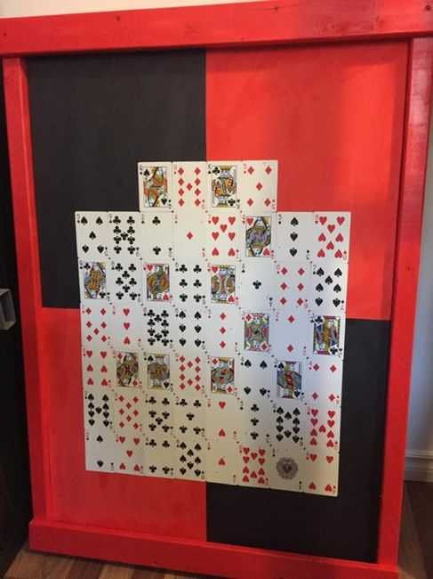 dart poker game board