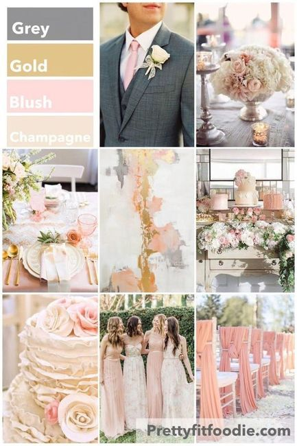 Spring Wedding Colors 2019 – Mini Bridal
