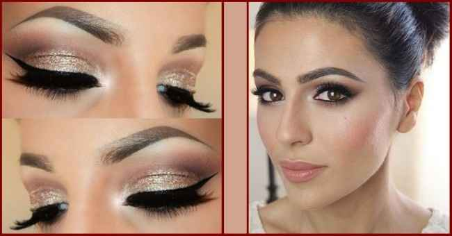 Bridal makeup looks for brown eyes