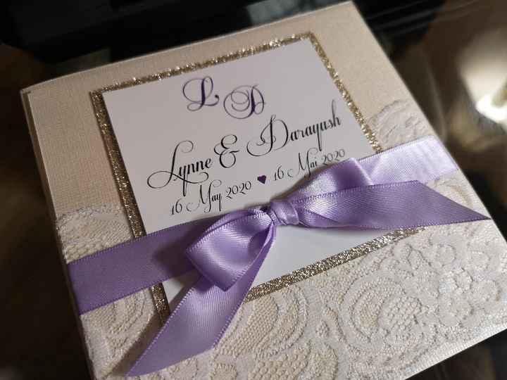 Anyone else making their wedding invitations? - 1
