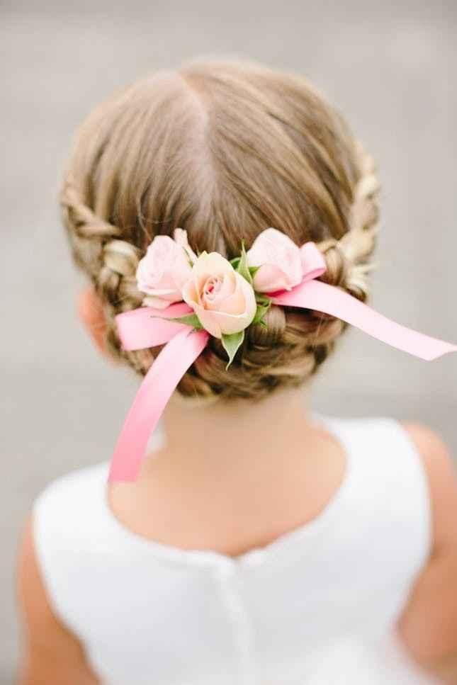 Flower Girl Hair 1