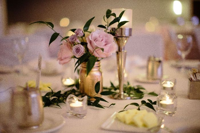 Real flower centrepieces budget 1