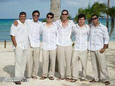 Causal men's wedding attire - 1
