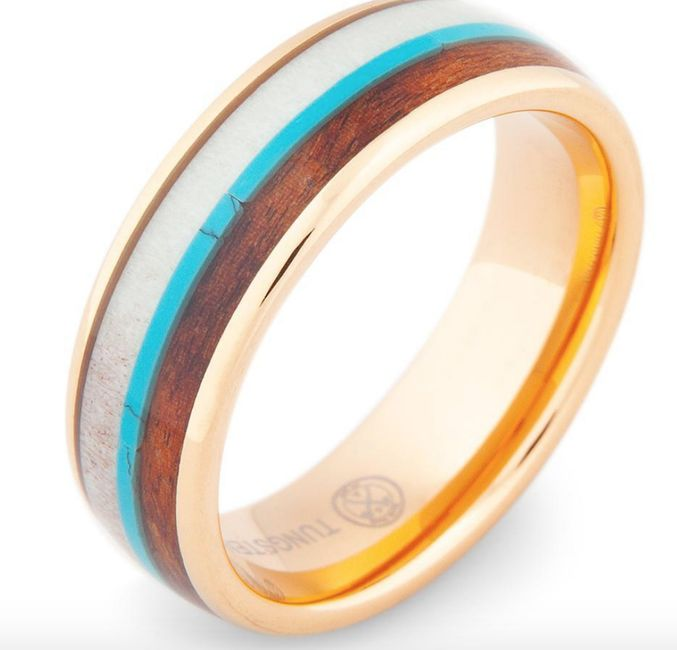 Wedding bands for the men! 5