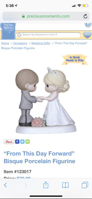 Show me your cake topper! 7