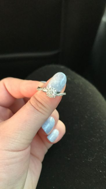 Gold Engagement Ring 2