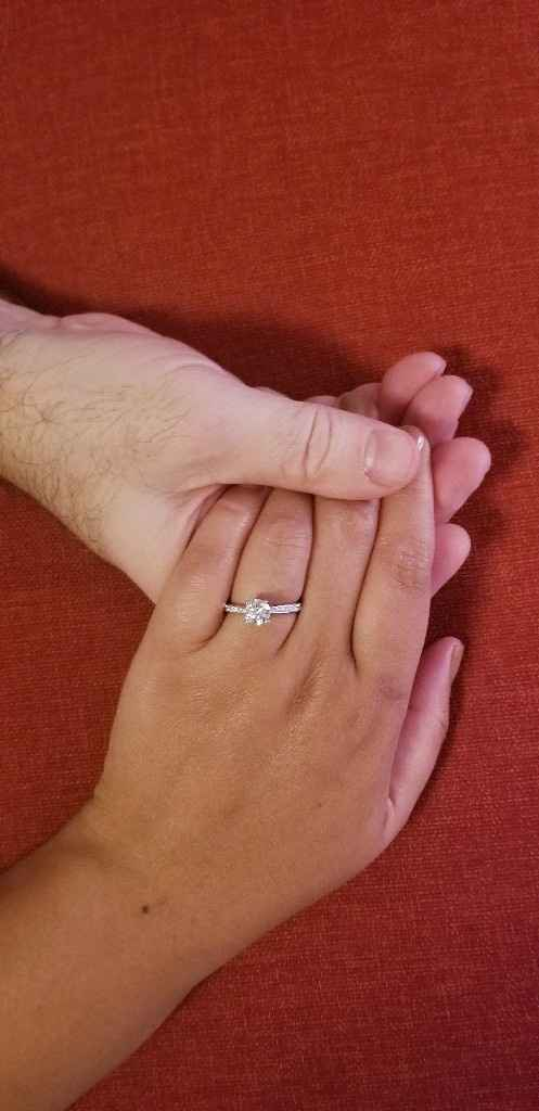 Fiancé(e) Friday - who brought up marriage first? - 1