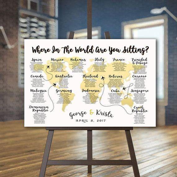 Seating Chart - Wedding reception - Forum Weddingwire.ca