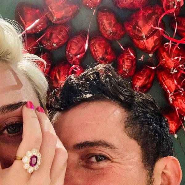 Celebrity Engagement - Unique Ring