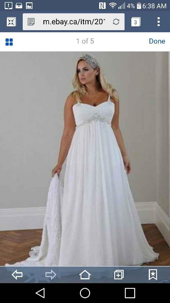 My favourite wedding dress - 1