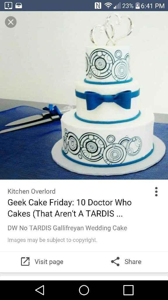 My favourite wedding cake - 1