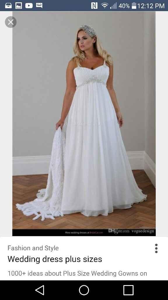 Wedding dress - 1