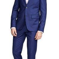 ashford birdseye navy suit