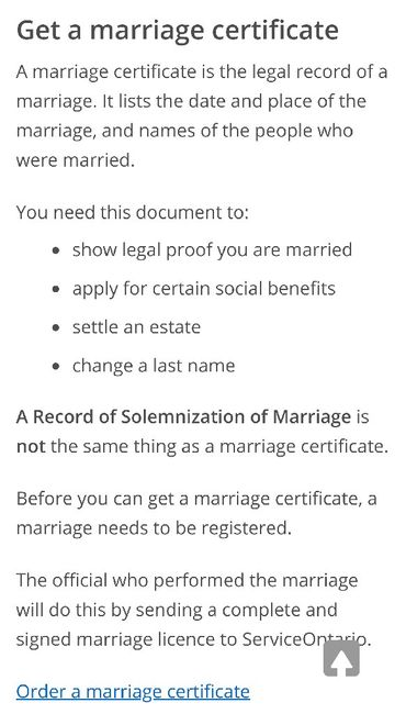 Marriage Certificate Plan A Wedding Forum Weddingwire