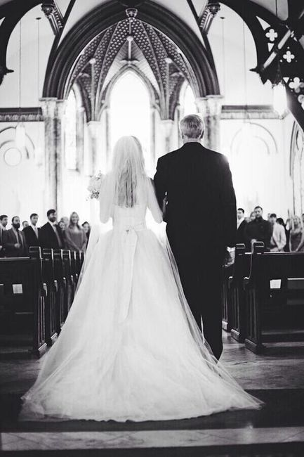 Walking down the aisle 1