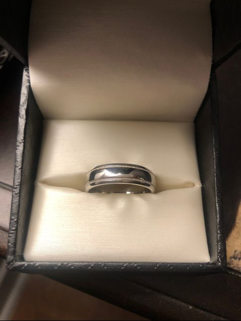 Wedding bands for the men! 1