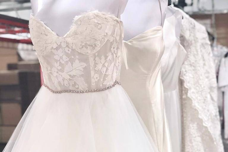 Cleaning wedding gowns