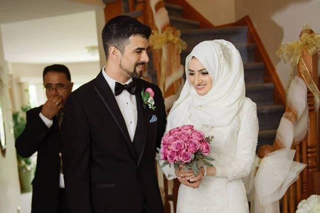 Hamilton, Ontario wedding couple