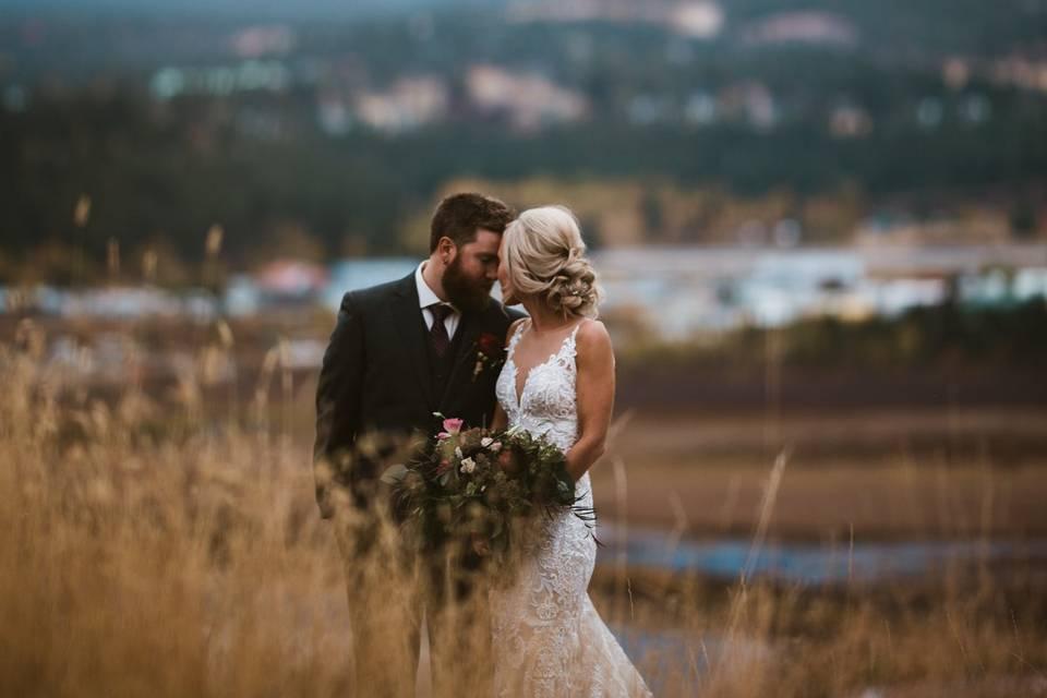Invermere Mountain Wedding