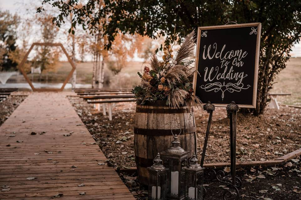 Hillside Acres Wedding Venue