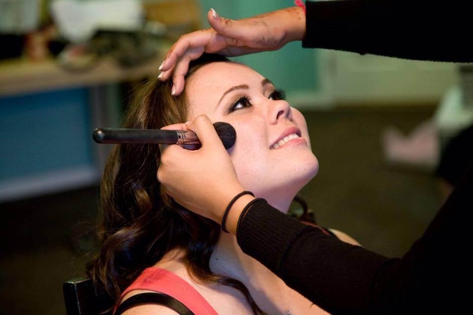 Jasveen Johal - Makeup artist